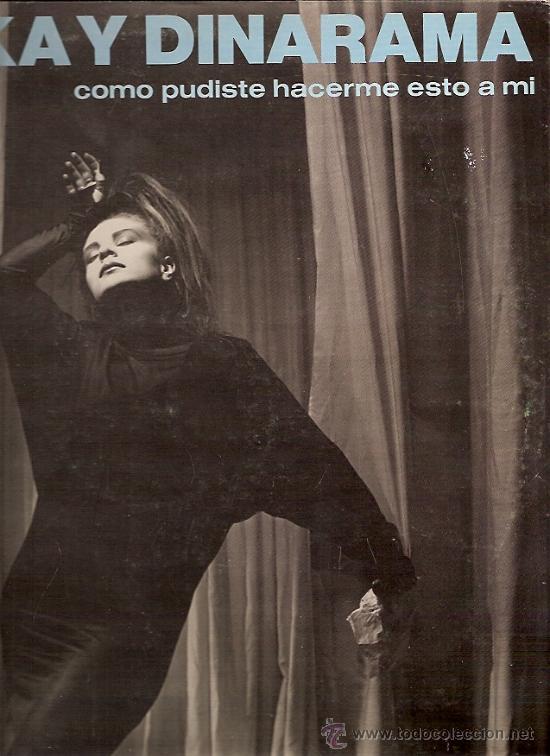 ALASKA Y DINARAMA MAXI-SINGLE SELLO HISPAVOX AÑO 1984 (Música - Discos de Vinilo - Maxi Singles - Solistas Españoles de los 70 a la actualidad)