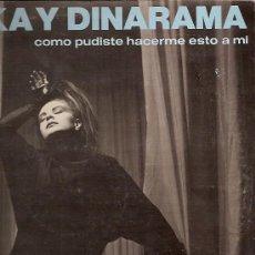 Discos de vinilo: ALASKA Y DINARAMA MAXI-SINGLE SELLO HISPAVOX AÑO 1984. Lote 17012458