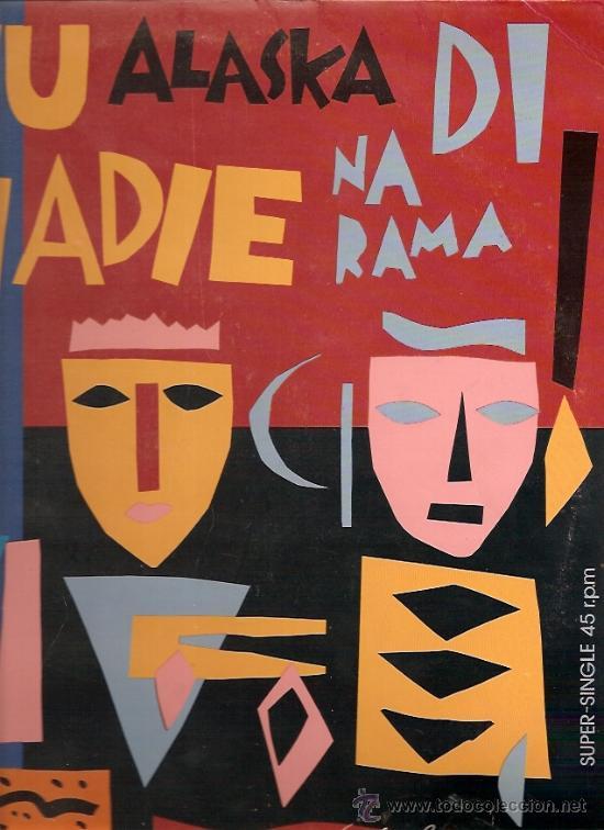 ALASKA Y DINARAMA MAXI-SINGLE SELLO HISPAVOX AÑO 1985 (Música - Discos de Vinilo - Maxi Singles - Solistas Españoles de los 70 a la actualidad)