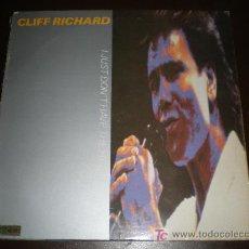 Discos de vinilo: CLIFF RICHARD - I JUST DON'T HAVE THE EARTH MAXI. Lote 17018574