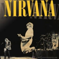 Discos de vinilo: 2LP NIRVANA LIVE AT READING GRUNGE VINILO. Lote 105971624