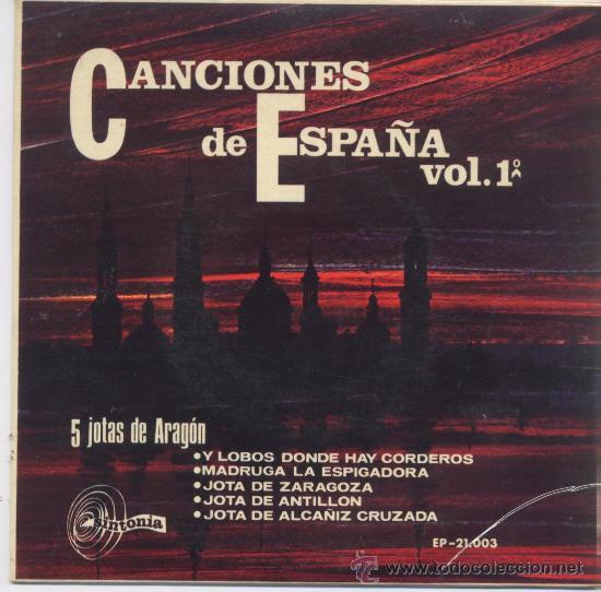 CASA DE ARAGON CON RONDALLA,JOTAS DE ARAGON DEL 67 (Música - Discos - Singles Vinilo - Otros estilos)