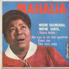 Discos de vinilo: MAHALIA JACKSON,SILENT NIGHT DEL 63. Lote 17036068