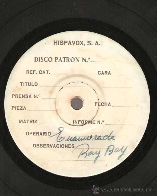 Discos de vinilo: EXCEPCIONAL EP DE JOSE GUARDIOLA - DEMO & DISCO PATRON CON TEMAS INEDITOS - UNICO EN SU ESPECIE - Foto 3 - 22630382