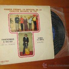 Disques de vinyle: PARA COLECCIONISTAS... IV FESTIVAL DE LA CANCION INFANTIL DE TVE.LOS VALLDEMOSA Y ALBERTO. Lote 17048014