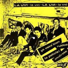 Discos de vinilo: LA UVI * YA ESTÁ BIEN * SINGLE PICTURE DISC * NUEVO * PUNK 80'S. Lote 173991248