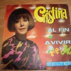 Disques de vinyle: CRISTINA. Lote 17130938