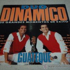 Discos de vinilo: DUO DINAMICO ' GUATEQUE ' 1990 - ESPAÑA LP33 CBS-SONY. Lote 17143827