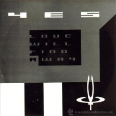 Discos de vinil: YES-LOVE WILL FIND A WAY + HOLY LAMB SINGLE VINILO 1987 PROMOCIONAL SPAIN. Lote 185961107