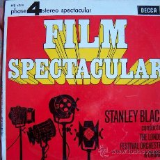 Discos de vinilo: LP - STANLEY BLACK WITH THE LONDON FESTIVAL ORCHESTRA AND CHORUS - FILM SPECTACULAR. Lote 17221032
