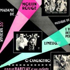 Discos de vinilo: 10 PULGADAS - EDDIE BARCLAY / MUSIQUE DE FILMS (RIVIERA 6580) TEMAS EN PORTADA. Lote 18508136