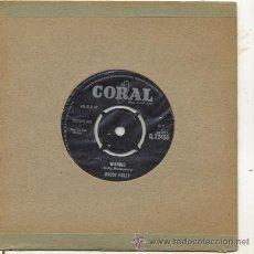 Discos de vinilo: SINGLE 45 RPM / BUDDY HOLLY / WISHING -BECAUSE I LOVE YOU /// EDITADO POR CORAL. Lote 26510962
