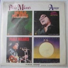 Discos de vinilo: PABLO MILANES - AMOR - SINGLE DE 1979. Lote 17272914