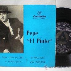 Discos de vinilo: PEPE EL PINTO 45 RPM. Lote 27200654