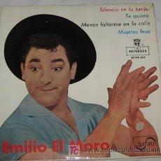 Discos de vinilo: SINGLE DE EMILIO EL MORO. Lote 22812031