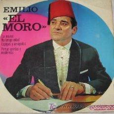Discos de vinilo: SINGLE DE EMILIO EL MORO. Lote 22812033