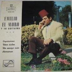 Discos de vinilo: SINGLE DE EMILIO EL MORO. Lote 22812035