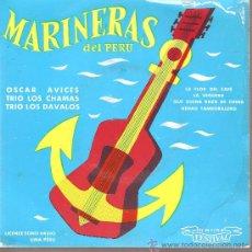 Discos de vinilo: EP HABANERAS - MARINERAS DEL PERU - DISCO EDITADO EN FRANCIA. Lote 22870378