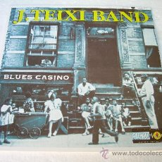 Discos de vinilo: LP J TEIXI BAND BLUES CASINO MEMELADA VINILO. Lote 110646042