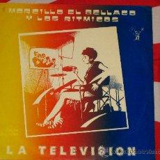 Discos de vinilo: MORCILLO EL BELLACO Y LOS RITMICOS *** LA TELEVISION *** 1984 MAXI SINGLE PROMO *** ROCK PUNK KBD **. Lote 23601109