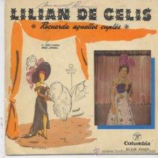 Discos de vinilo: LILIAN DE CELIS,EL LINDO RAMON DEL 58. Lote 17317513