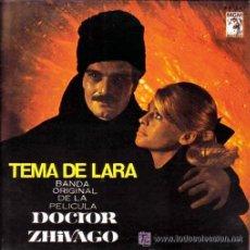 Dischi in vinile: BSO DE LA PELÍCULA DOCTOR ZHIVAGO - MAURICE JARRE - TEMA DE LARA - 1966. Lote 22171980
