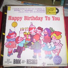 Discos de vinilo: HAPPY BIRTHDAY TO YOU;. Lote 27636720