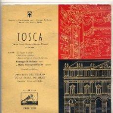 Discos de vinilo: TOSCA - VICTOR DE SABATA (LA VOZ DE SU AMO 7ERL 1121). Lote 17335484