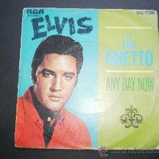 Discos de vinilo: ELVIS PRESLEY.IN THE GHETTO.AÑO 1969. Lote 26942929