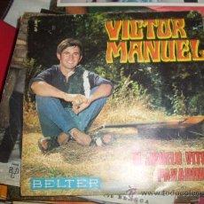 Discos de vinilo: VICTOR MANUEL- EL ABUELO VITOR. Lote 25736449