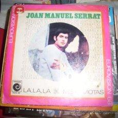 Discos de vinilo: JUAN MANUEL SERRAT ( LA, LA, LA, ). Lote 83824940