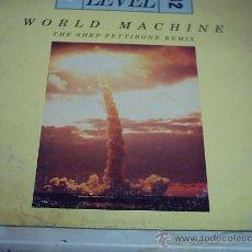 Discos de vinilo: 12 - MAXI - LEVEL 42 - WORLD MACHINE POLYGRAM 1985 USA. Lote 17363057