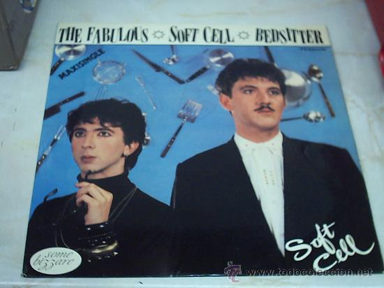 12 - MAXI - SOFT CELL - BEDSITTER VERTIGO 1982 MADRID (Música - Discos de Vinilo - Maxi Singles - Rock & Roll)