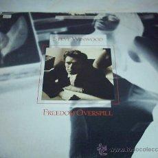 Discos de vinilo: 12 - MAXI - STEVE VINWOOD - FREEDOM OVERS PILL ISLAN 1986 USA. Lote 17363807