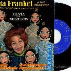 Discos de vinilo: EP HERTA FRANKEL Y SUS MARIONETAS PIM PAM PUM. Lote 17378128