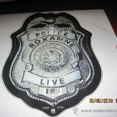 Discos de vinilo: THE POLICE / ROXANNE/ SHARPE CHAPA DE POLICIA FOTODISCO DE UK. Lote 17395353