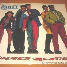 Discos de vinilo: THE PARTY - SUMMER VACATION - MX - SANNY RECORDS 1991 SPAIN - NUEVO PRECINTADO. Lote 25832799