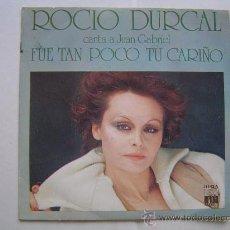 Discos de vinilo: SINGLE VINILO ROCIO DURCAL.. Lote 17423173