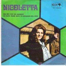 Discos de vinilo: NICOLETTA - MA VIE CÈST UN MANEGE ** MOVIEPLAY ESPAÑA 1979. Lote 17431917