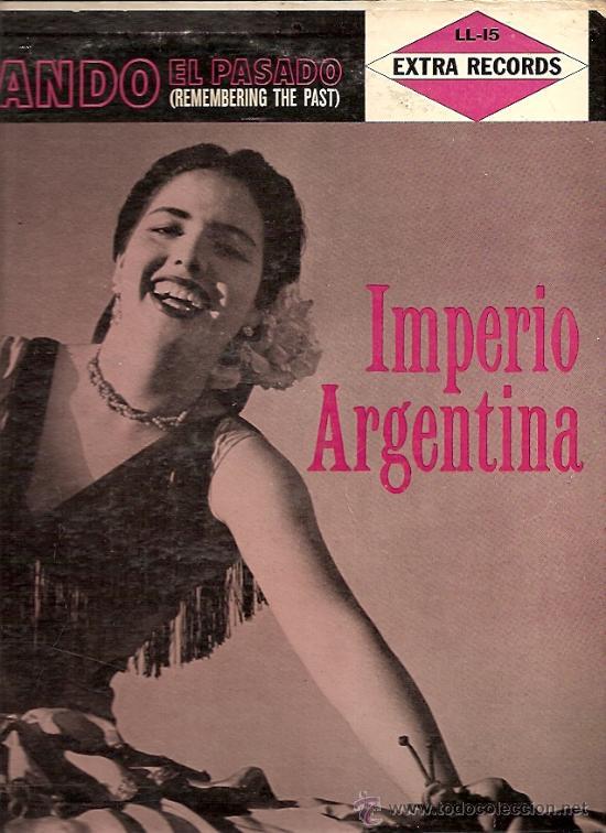 IMPERIO ARGENTINA LP SELLO EXTRA RECORDS EDITADO EN USA. (Música - Discos - LP Vinilo - Flamenco, Canción española y Cuplé)