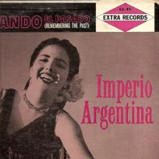 Discos de vinilo: IMPERIO ARGENTINA LP SELLO EXTRA RECORDS EDITADO EN USA.. Lote 17434583