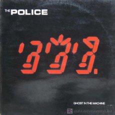 Discos de vinilo: LP POLICE-GHOST IN THE MACHINE. Lote 19867205