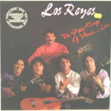 Discos de vinilo: LOS REYES FLAMENCO RUMBA GIPSY LP IRIS 1988. Lote 17441915