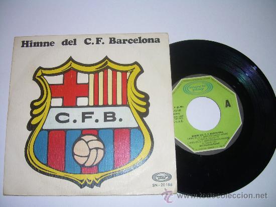 Discos de vinilo: HIMNE DEL C.F. BARCELONA - Foto 3 - 23132902
