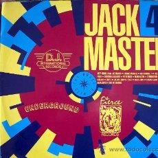 Disques de vinyle: LP - JACKMASTER 4 - VARIOS - DOBLE DISCO, EDICION INGLESA, D. J. INTERNACIONAL RECORDS 1989. Lote 17455922
