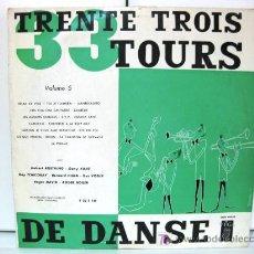 Discos de vinilo: 33 TOURS DE DANSE VOL.5 - LP - RAY TCHICORAY / BERNARD HILDA / HUBER ROSTAING - VEGA 1956 BPY. Lote 27343424