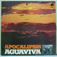 Discos de vinilo: AGUAVIVA - APOCALIPSIS (LP NEVADA 1977) FOLK PROG. Lote 27492424