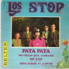 Discos de vinilo: LOS STOP - PATA PATA ** EP BELTER 1968 SPANISH FREAKBEAT . Lote 19864137
