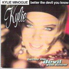 Discos de vinilo: KYLIE MINOGUE - BETTER THE DEVIL YOU KNOW ** 1989 CBS. Lote 17489997