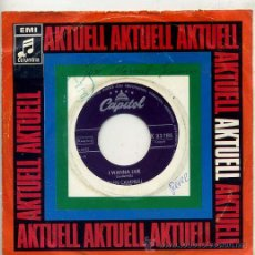 Discos de vinilo: GLEN CAMPBELL / I WANNA LIVE / LESS OF ME (SINGLE ORIGINAL ALEMAN). Lote 17495635